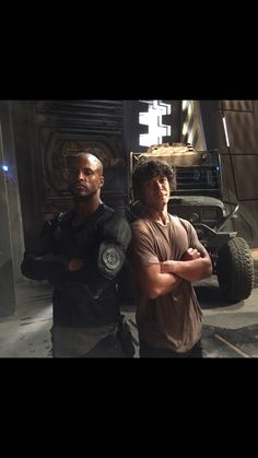 At least... once they were friends. Lincoln and Bellamy. #the100