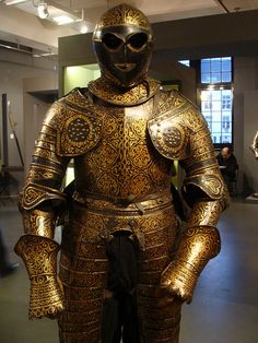 ca. 1630 - 'cuirassier officer's three-quarter armour', Savoy, Karsten Klingbeil Collection, Pierre Bergé & associés Auction House, Brussels, Belgium | Flickr - Photo Sharing!