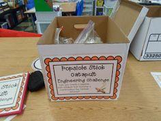 Growing a STEM Classroom: STEM Engineering Kit Set-Up