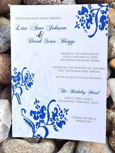 Formal Wedding Invitation Wedding by SoireeCustomPaperCo on Etsy, $100.00