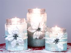Simple craft: How to make dainty holiday-themed candle holders - Slide 7 - Canadian Living