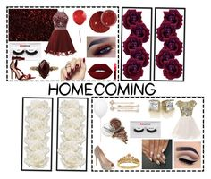 """Going to homecoming with your Bestfriend"" by kandykuahgoddess on Polyvore featuring Lime Crime, Morphe, Gianvito Rossi, Chan Luu, Allstate Floral, Estiluz, Lauren Lorraine, LC Lauren Conrad and Eternally Haute"