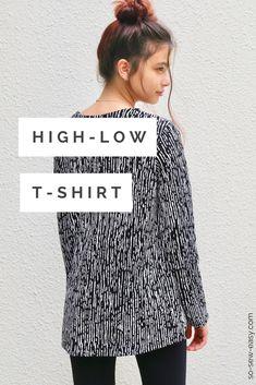 high-low t-shirt