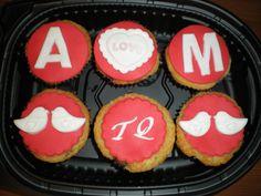 Cupcakes románticas para una parejita!!