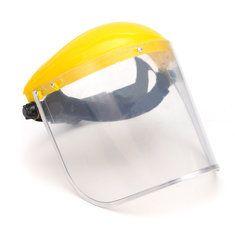 Clear Mesh Full Visor Flip Up Face Shield Screen Safety Mask Eye Protector Helmet Yellow lemon mask, kids face mask, diy black mask