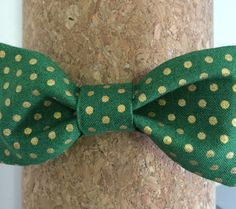 Green and gold toddler boy's bow tie // So Baylor. #SicEm