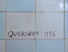 Querubim Lapa   Estação / Station Bela Vista   Metropolitano de Lisboa / Lisbon Underground   1998 #Azulejo #AzulejoDoMês #AzulejoOfTheMonth #QuerubimLapa #MetroDeLisboa #Lisboa #Lisbon