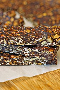 Brownie Granola Bars
