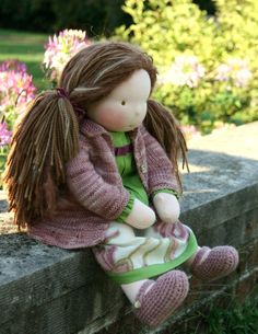 Petit Gosset Handmade Doll 20 inch RESERVED for by PetitGosset