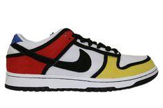 mondriaan op schoenen