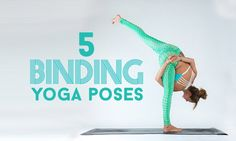 Yoga binds require a linking of the hands and/or wrists, taking you physically deeper into a pose. Here are 5 examples of bound yoga poses you can try.