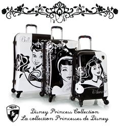 Heys Disney Princess Luggage Collection! WANT!! <3