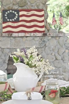 FRENCH COUNTRY COTTAGE: Happy 4th of July!