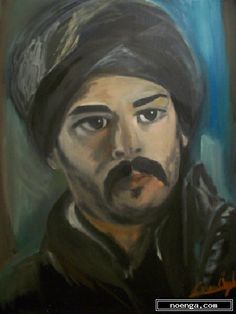 noenga.com :(c) ceren ogel  (TURKEY) :: MALKOCOGLU ::  :  :  :  : This is a portrait taken from The Magnificent Century which is a prime time historical Turkish  television series . In history he is known as a brave hero nammed Malkocoglu Bali Bey