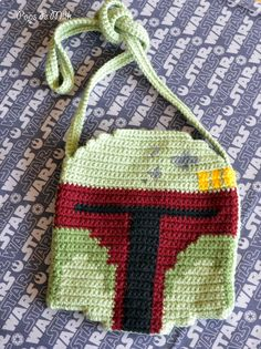 Boba Fett Bag Free Crochet Pattern - Pops de Milk3