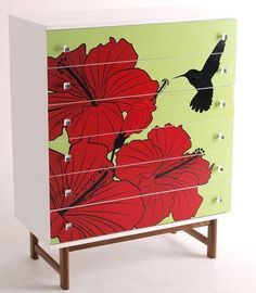 Giving a vintage piece of retro furniture some modern flare is a great way to add zest and interest to your decor.