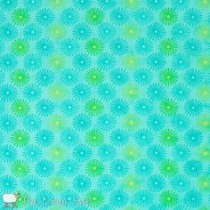Photo of 22212 14 Floral Sparkle Turquoise