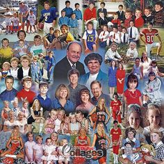 Birthday Photo Collage Gift Idea - with 45 photos. (The ProCollage logo (watermark) is not on the actual print) - See this image on Photobucket. Birthday Photo Collage, Photo Collage Gift, Birthday Photos, Family Picture Collages, Family Photos, Picture Gifts, Photo Gifts, Collage Frames, Collage Ideas