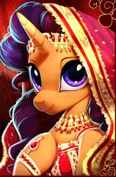 Saffron Masala by Imalou Finally mlp adds an Indian pony! Dessin My Little Pony, Mlp My Little Pony, My Little Pony Friendship, Friendship Games, Princess Celestia, Princess Luna, Fluttershy, Raimbow Dash, Little Poni