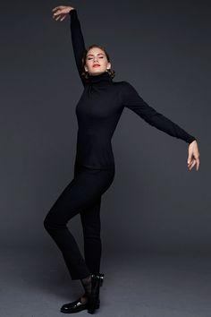 Audrey Hepburn's granddaughter, Emma Ferrer, shot by Richard Avedon's grandson. See the full fashion shoot here: