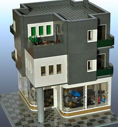 Ing Civil, Lego Table Ikea, Casa Lego, Lego Super Mario, Amazing Lego Creations, Lego Pictures, Lego Room, Lego Blocks, Lego Modular