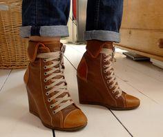 Chloe Wedge Boots