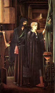 edward burns jones | The Wizard
