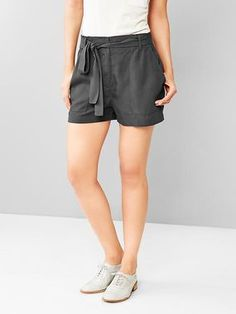 These breezy Paperbag-Waist Shorts have a relaxed fit that would pair well with a fitted top and wedges or a button up shirt and oxfords. http://thestir.cafemom.com/beauty_style/185226/12_stylish_summer_shorts_for