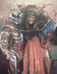 Lord Zedd & Rita. Who looks a better villain the sorceress or the guy with tubes of fluids around his body and in his first appearance turned a snake into a staff.