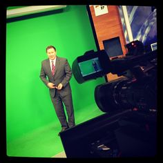 WIBW Jeremy doesn't own a green suit because he would disappear when giving the weather.