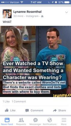 Tv show clothes