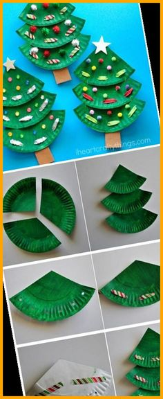 Christmas Trees For Kids, Christmas Crafts For Kids To Make, Mothers Day Crafts For Kids, Paper Crafts For Kids, Mothers Day Cards, Simple Christmas, Christmas Cards, Christmas Decorations, Crafts Toddlers