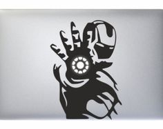 "Iron Man Tony Stark Marvel Hand - Apple Macbook Laptop Decal Sticker Vinyl Mac Pro Air Retina 11"" 13"" 15"" 17"" Inch Skin Cover"