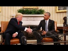 Trump Calls Obama 'Very Good Man' In Meeting At White House