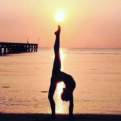 """""""Love yourself first & everything else falls into place."""" - Lucille Ball ✨✨ Scenic #yogapose @neyu_ma via @yoga"""