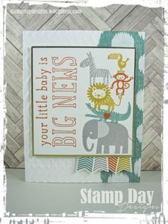 Stamp Day Designs, Little Baby - Big News II (1)