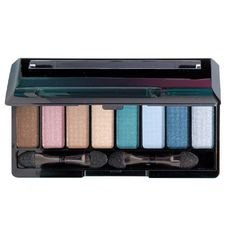 NEW: Avon Mark Island Eyes Eye Color Palette- 8 Eyeshadows