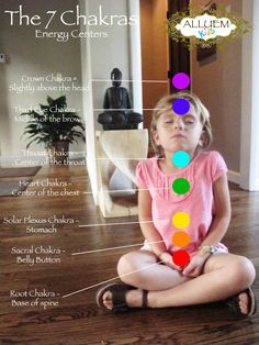 The 7 Chakras with activities for kids.