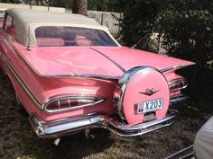 1959 Pink Impala Convertible..Re-pin..Brought to you by #CarInsuranceEugene, and #HouseofInsurance