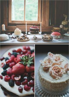 Dessert table, barn style...