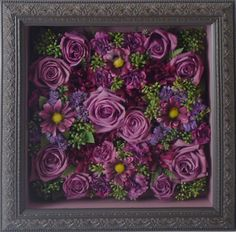 Turn your wedding bouquet in to a piece of art! Have it preserved and arranged in a contemporary fashion to display in your home for years to come!    www.freezeframeit.com