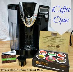 iCoffee Opus Single Serve Coffee Brewer