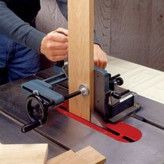 Heavy-Duty Tenoning Jig - Rockler Woodworking Tools