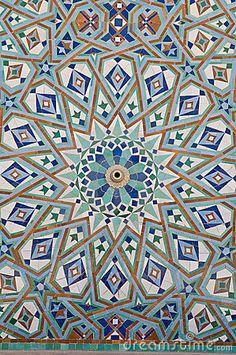 Arabian Mosaic Art