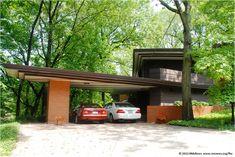 Andrew F.H. Armstrong House. 1939.Ogden Dunes, Indiana. Usonain Style. Frank Lloyd Wright