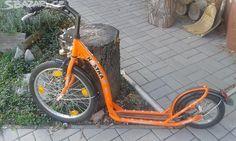 Koloběžka Kostka - obrázek číslo 1 Bicycle, Vehicles, Bike, Bicycle Kick, Bicycles, Car, Vehicle, Tools