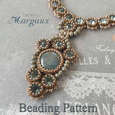 Beading pattern - Necklace 'Margaux' - Trinkets beading