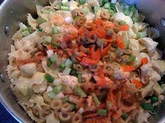 Sweet Tea and Cornbread: Patchwork Pasta Salad!