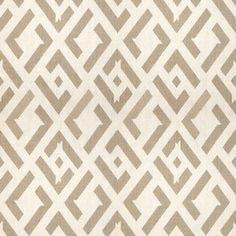 China Club Dune China Club.16 - Geometric, Prints Linen Fabric by Kravet