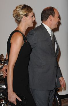 Charlene Wittstock Photos - (L-R) Charlene Wittstock and Prince albert II of Monaco attend the charity summer gala for Fight Aids Monaco on July 17, 2009 in Monaco, Monaco. - Fight Aids Monaco - Summer Gala